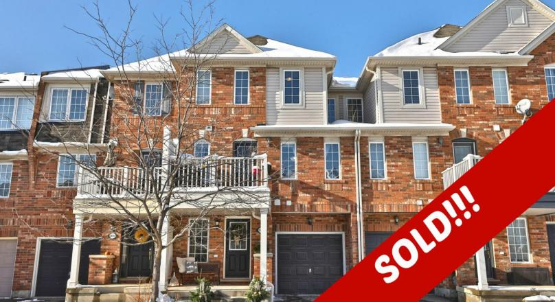 JUST SOLD IN BRONTE CREEK!!!