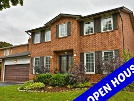 OPEN HOUSE SUNDAY 2-4PM - 444 LINCOLN GATE, OAKVILLE