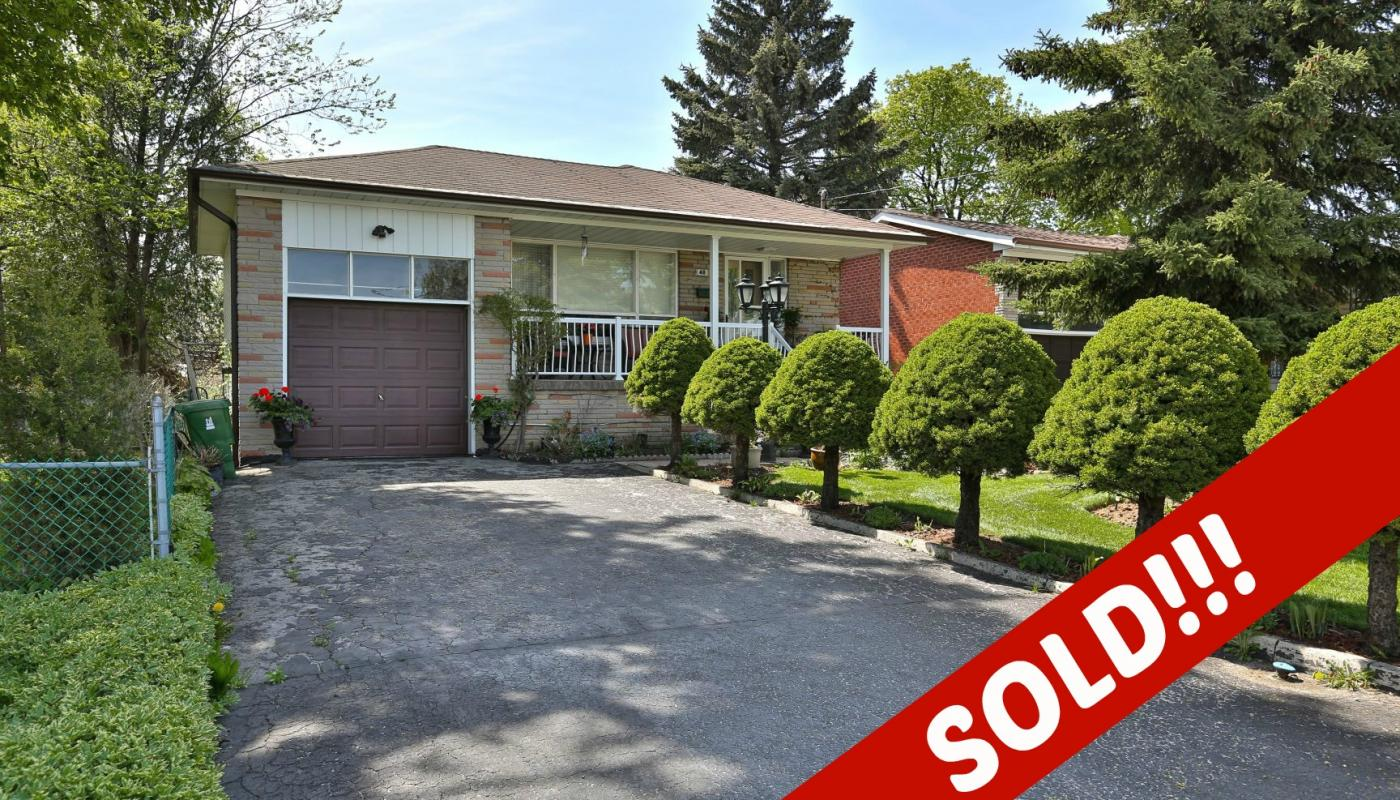 JUST SOLD IN NORTH YORK!!
